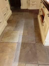 sandstone kitchen floor tile before cleaning quarry bank mill cottage