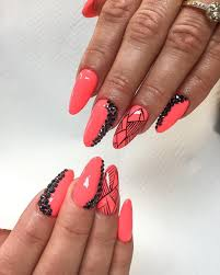 Almond nail art ideas - how you can do it at home. Pictures ...