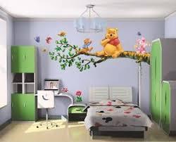 diy winnie the pooh tree branch wall sticker decal kids home decor