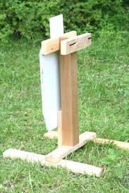 amazing wooden target stand my homemade target stand steel target diy wood steel target stands plan