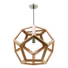 timber pendant light beacon
