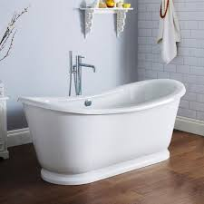 alfie round double ended freestanding bath 1740 x 800mm