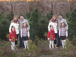 How To Survive A Holiday Family Photo Shoot  Our Trip To The Christmas Tree Farm Family Photos