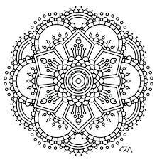 Mandala Coloring Mandala Coloring Page Elephant Mandala Coloring
