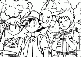 Small Picture Misty Pokemon Coloring Pages Coloring Home