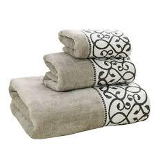 Decorative Bathroom Towels Sets Decorative Bath Towels Lenox Chirp Embroidered Hand Towel Jzgh