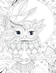 Owl Coloring Pages Coloring Pages Of Owls For Adults Coloring Pages