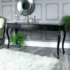black gloss console table high gloss black console table with led lighting range black high gloss