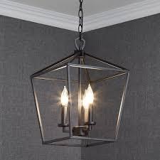 hillpoint 3 light pendant chandelier