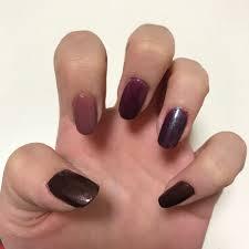 爪を塗る Twitterren 親指から レブロン Foxy 750番 ネイルホリック