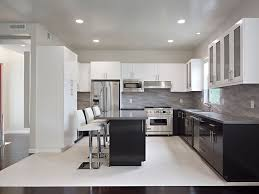 two tone kitchen cabinets contemporary