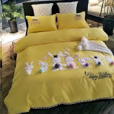 hipster mustard yellow and white rabbit