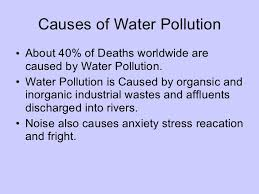pollution ppt water pollution pictures