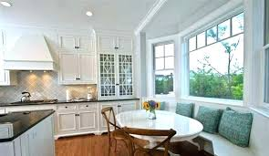 bench seat kitchen table bay window seating in kitchen built in bench seat kitchen new kitchen