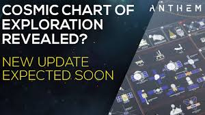 Anthem Chart Anthem Exploration Teaser By Bioware Cosmic Chart Of Exploration Chart New Info Coming Soon