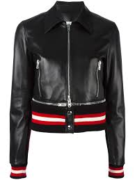 givenchy cropped leather jacket 001 black women clothing jackets givenchy male skirts official uk stockists