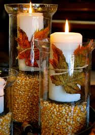 Thanksgiving/Fall Decorations-Hurricane Vases
