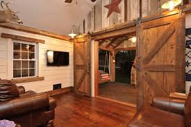 rustic interior lighting. Interior Barn Door Ideas Family Room Rustic With Americana Lighting