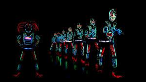 Tron Dance Lights Best Tron Dance Light Dance India Skeleton Dance Crew