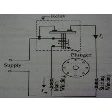 split phase motor wiring learn how single phase motors are made AC Motor Wiring Diagram electromagnetic relay as centrifugal switch