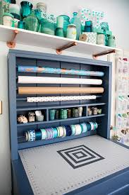 Lovely Something Turquoise Craft Room + Blog Office