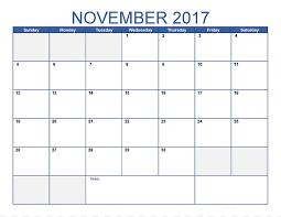 Free Microsoft Calendar Calendar November Template Portable Document Format