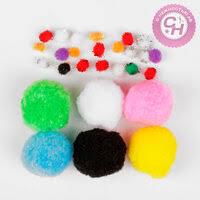 «разноцветные помпоны» — Товары для создания поделок и ...