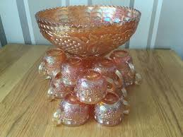 on a budget glass punch bowls antique