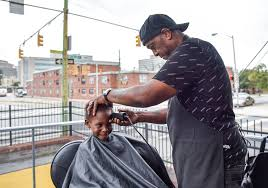 Mobile Barbershop Provides Free Back To School Haircuts For Boys In