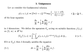 why is this function the fundamental solution of the heat equation a question concerning a paper from strook and varadhan