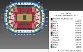 Mandalay Bay Events Center Boxing Seating Chart Abundant Mandalay Bay Arena Seating Chart Ufc Mandalay Bay