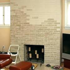 inside fireplace paint living room with brick fireplace paint colors grey wash on a before after