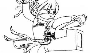 Small Picture Ninjago Coloring Pages Stunning Lego Ninjago Characters Coloring