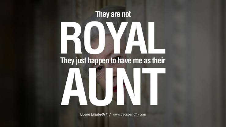 quotes on royal life