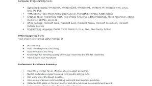 Basic Skills For Resume how to describe excel skills on resume megakravmaga 64
