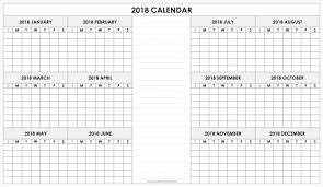 blank 2018 calendars blank 2018 calendar printable calendar 2018