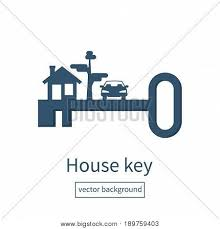for rent sign template key home silhouette vector vector photo bigstock