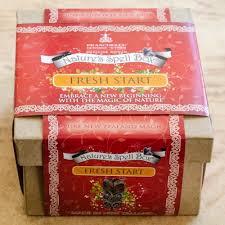 Start Boxes Fresh Start Spell Box Hikoi Hou Natures Spell Boxes Magical Gifts