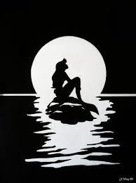 Small Picture Best 25 Little mermaid silhouette ideas on Pinterest Little