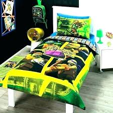 Teenage Mutant Ninja Turtle Bed Set Turtles Bedroom For Kids ...
