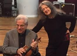<b>Perlman</b> And <b>Argerich</b> Together For A New Recording - Pizzicato ...
