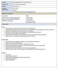 Salon Receptionist Resume Sample - Zoology Resume Examples Worksheet ...