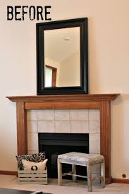 painting fireplace tile fireplace