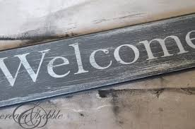 welcome sign step 8
