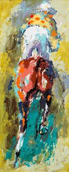 leroy neiman american 1921 2016 horse and jockey post war and contemporary art may 24 2016 in chicago post war and contemporary art