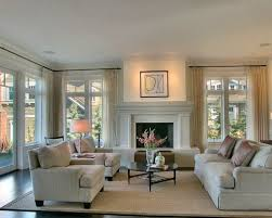 Inspiration For A Large Contemporary Formal Living Room Remodel In Seattle  With A Standard Fireplace And Ideas