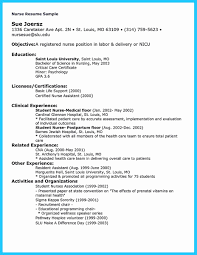 Template How To Write A Nursing Resume Templates Nurse Tem Rn With ...