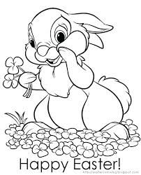 Easter Bunny Coloring Book Pages Colouring Coloring Pictures Of
