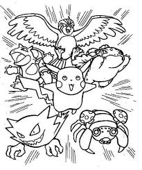 Small Picture pokemon coloring pages pikachu and ash Google Search good