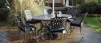 Elegant Classy Cast Aluminum Outdoor Furniture Stamford Aluminium Aluminium Outdoor Furniture